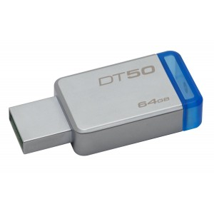 Kingston 64GB USB 3.1 3.0 Flash Bellek DT50/64GB