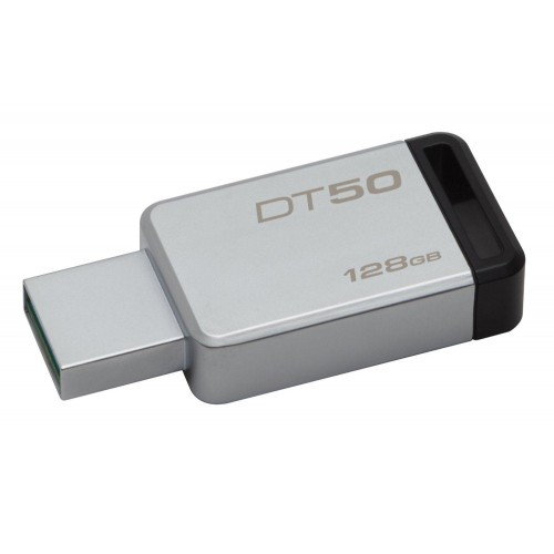 Kingston 128GB USB 3.0 3.1 Flash Bellek Metal DT50/128GB