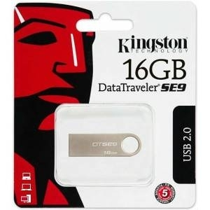 Kingston 16GB USB Flash Bellek Metal DTSE9H/16GB