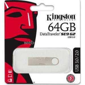 Kingston 64GB USB 3.0 Flash Bellek Metal DTSE9G2