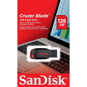Sandisk 128GB USB Flash Bellek Cruzer Blade SDCZ50-128G-B35