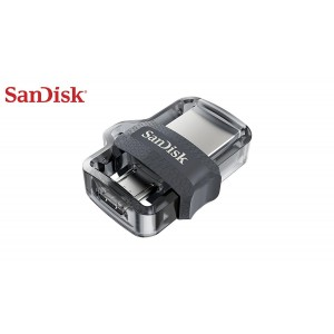 Sandisk 16GB Ultra Dual Drive  m3.0 USB Flash Bellek SDDD3-016G-G46