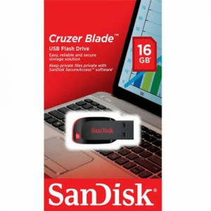 Sandisk 16GB USB Flash Bellek Cruzer Blade SDCZ50-016G-B35
