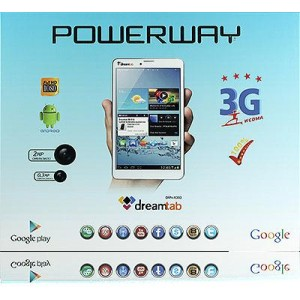 TABLET PC 7' 3G SIM KARTLI POWERWAY DRN-X303