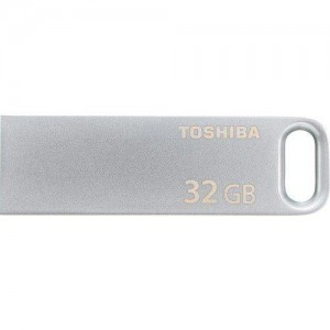 Toshiba 32GB USB 3.0 Flash Bellek Metal Bıwako 120MB/s THN-U363S0320E4