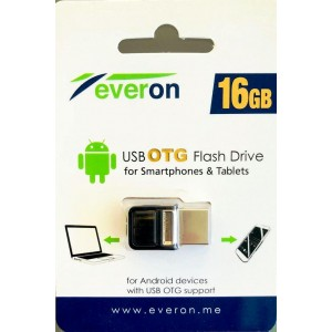 Everon 16GB USB Flash Bellek Dual Drive OTG